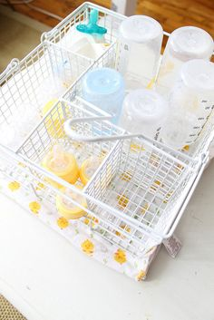 Baby Bottle Storage via PreciousStyleOnline.com