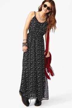 Falling Star Maxi Dress