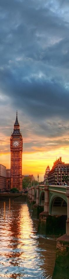 Take me away to London...
