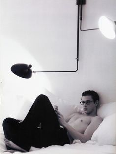 Gaspard Ulliel. This is what I want to come home to.