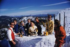 Apres Ski, Squaw Valley (Slim Aarons Estate Edition 1