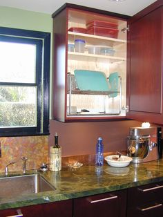 Cabinets Above and Below Sink, and your Dish Drainer