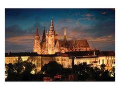 Prague Castle Kunstdruk