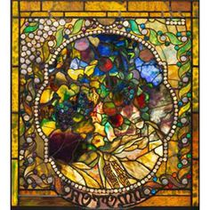 This gorgeous Tiffany Autumn Stained Glass has the finest details and highest quality you will find anywhere! Tiffany Autumn Stained Glass is truly remarkable.Glass Size - x in. Stained Glass Angel, Tiffany Stained Glass, Tiffany Glass, Stained Glass Windows, Leaded Glass, Mosaic Glass, Fused Glass, Window Glass, Window Art