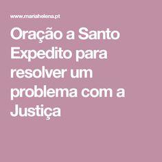 Oração a Santo Expedito para resolver um problema com a Justiça