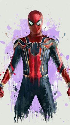 Spiderman In Avengers Infinity War Wallpaper – Cool backgrounds Marvel Dc Comics, Marvel Avengers, Hero Marvel, Films Marvel, Bd Comics, Marvel Art, Marvel Characters, Marvel Cinematic, Spiderman Marvel