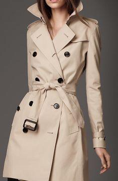 Louis Vuitton Gabardine Cotton Trench Coat