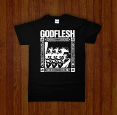 GODFLESH Shirt | Occult, Cult, and Obscure Clothing and Tshirts | Night Channels