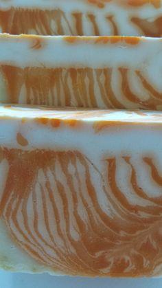 Handmade Soap with Yogurth and Grapefruit.