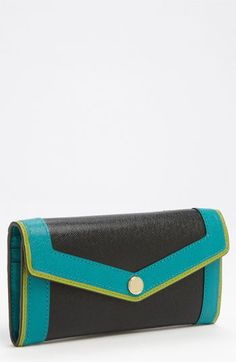 MICHAEL Michael Kors 'Carryall' Saffiano Wallet available at #Nordstrom