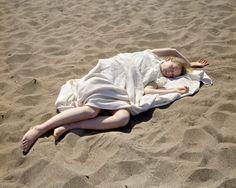 Claire (Burned), Baker Beach, Katy Grannan, 2006