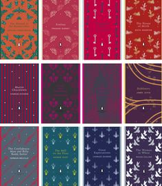 Coralie Bickford-Smith's new designs for the 100 paperbacks of the Penguin English Library - Penguin Classics with a twist Penguin Books Classics, Capas Kindle, Wicca, Book Design Inspiration, English Library, Book Spine, Beautiful Book Covers, Book Writer, Classic Books