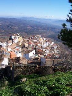 Vistas de Chiclana de Segura desde La Atalaya