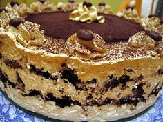 Przepis na Torcik z mascarpone - MniamMniam.com Tiramisu, Pie, Ethnic Recipes, Food, Mascarpone, Torte, Cake, Fruit Cakes, Essen