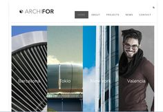 ARCHIFOR - Simple, Flat Responsive Portfolio WP Theme This responsive WP theme is easy to setup and very suitable for Architects, Photographers and Personal Portfolio websites.