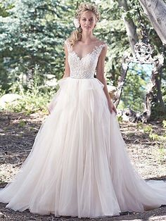 Raeleigh Wedding Dress by Maggie Sottero | front
