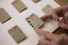 Charlotte and Patrick Branwell Brontë assembled tiny books when they were little. | The Brontës Made Itty-Bitty Books As Children