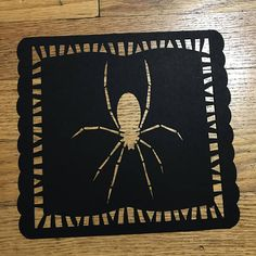 Halloween Papel Picado Banner Spider Pumpkin and Beware