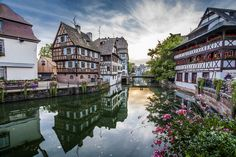 Canales de Estrasburgo (Alsacia, Francia) Strasbourg (Alsace, France) Strasbourg by Jesús Sánchez Ibáñez on 500px