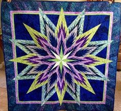 Feathered Star, Quiltworx.com, Made by CI Patsy Carpenter