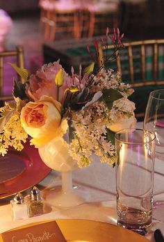 Weddings springbank flowers wedding ideas pinterest florists flowers arranged in antique milk glass vases from the brides own collection maggie conley photography mightylinksfo