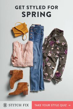 Looking for a new way to shop for women's clothes? Try a Stitch Fix personal stylist and get a box of handpicked clothing sent right to your door. Look Fashion, Spring Fashion, Fashion Outfits, Womens Fashion, Fashion Trends, Fashion Scarves, Estilo Hippie Chic, Looks Halloween, Casual Outfits