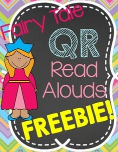 These QR readers would make a great addition to any listening center!  They can be used with whatever devices you have available in your classroom.  I have them in a full sheet to be laminated and put in a binder or folder, or in half sheets to be put on a ring.