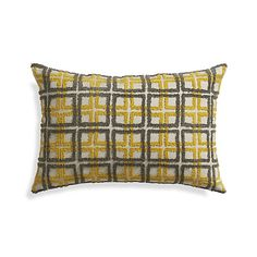 "Renard 24""x16"" Pillow with Down-Alternative Insert  