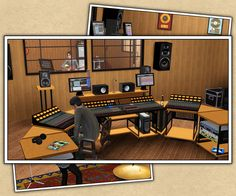 Around the Sims 3 | Downloads | Objects | Recording Studio