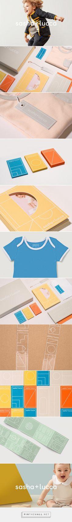 sasha + lucca Brand Identity on Behance. Visual identity, logo design, branding.