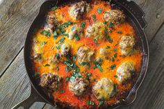 Meaty, Cheesy Tex Mex Meatballs on Jess Pryles Venison Recipes, Meatball Recipes, Beef Meals, Classic Meatball Recipe, Venison Steak, Red Enchilada Sauce, Fire Cooking, Smoked Ham, Oven Dishes
