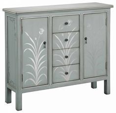 Find Stein World Furniture Selina Cabinet, Silver Blue Grey online. Shop the latest collection of Stein World Furniture Selina Cabinet, Silver Blue Grey from the popular stores - all in one Accent Furniture, Painted Furniture, Furniture Ideas, Bedroom Furniture, Refinished Furniture, Funky Furniture, Bedroom Decor, Kitchen Furniture, Rustic Furniture