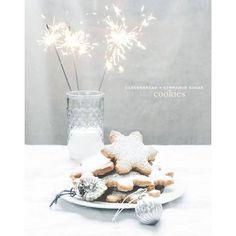 Christmas cake Des cookies au gingembre et a la cannelle