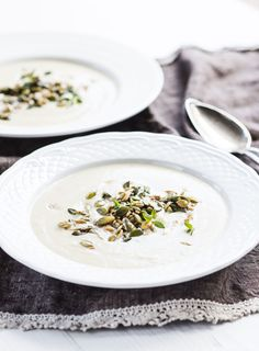 Kukkakaalikeitto, Cauliflower soup - Ruoka.fi