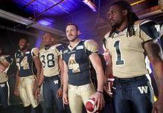 New Jerseys for Winnipeg Blue Bombers Football Team