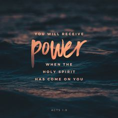 bible verses on receiving the holy spirit Bible Verses Quotes, Bible Scriptures, Faith Quotes, Holy Spirit Scriptures, Acts Bible, Quote Life, Christian Life, Christian Quotes, Quotes Loyalty