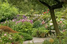 Old Buckhurst, an English country garden
