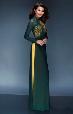 15 kiểu áo dài đẹp nhất xuân Bính Thân của sao Việt - 1