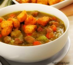Mighty Delighty: Delicious & Easy Spilt Pea Soup with Ham
