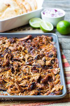 Simple Carnitas Recipe #carnitas #tacos #mexican #slowcooker #crockpot