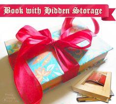 Book with Hidden Storage   Pretty Handy Girl