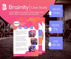 How the e-commerce, Velites, increased online sales and ROAS with Customer Journey Ads. Advertising Strategies, Increase Sales, Online Sales, Case Study, Ecommerce, Make It Simple, Insight, Journey, Success