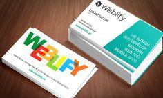 www.weblify.pl - odświeżenie projektu materiałów firmowych // graphic design of new company printing for Weblify