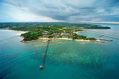 Aerial view of #Batam in the #Riau islands.