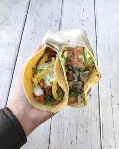 Handheld Tacos   Thanks for sharing @nadiney_sheepy   #TacoTuesday:  $2.50 Grilled Chicken Tacos  $2.50 Pastor Tacos  $2.50 Veggie Nopal Tacos  $3.00 Cerveza  #LetsTaco  #TheTacoStand