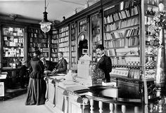 Bookstore in Naestved, Denmark (1899)