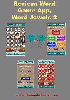 Review: Word Game App, Word Jewels 2