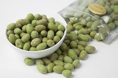 Wasabi Peanuts are salty with a slightly sweet finish. The wasabi flavored shell really makes them! $3.89 for one pound.