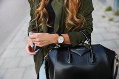 ee95652d522 #Givenchy Signature #Antigona Small Leather Satchel #Givenchy #Fashion  #Handbags #Style