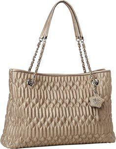 Jessica Simpson Pretty Whisper Shoulder Bag, Champaign, One Size: Handbags: Amazon.com